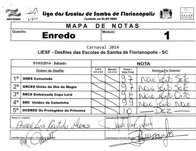 -  ~~ Lf f  SANTA CATARINA  ~  liga dal EICOial de Samba de rlotianOpolil  St:::C:H£: tAr~lA MVNJClPfL  rundada em 06/09/1...