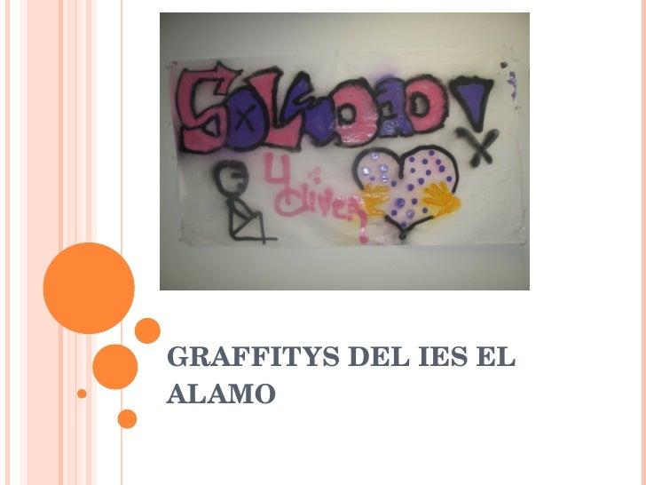 GRAFFITYS DEL IES EL ALAMO