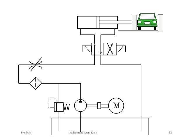 hydraulic power pack and hydraulic symbols hydraulic power unit drawing hydraulic power unit schematic #7