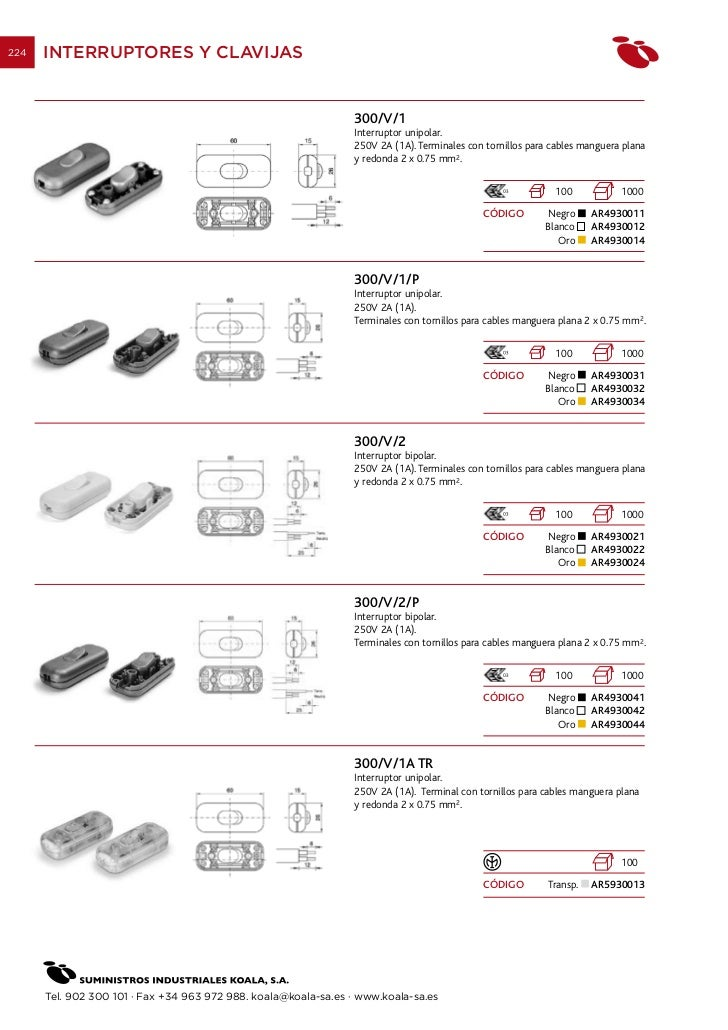 06 interruptores - Suministros industriales koala ...