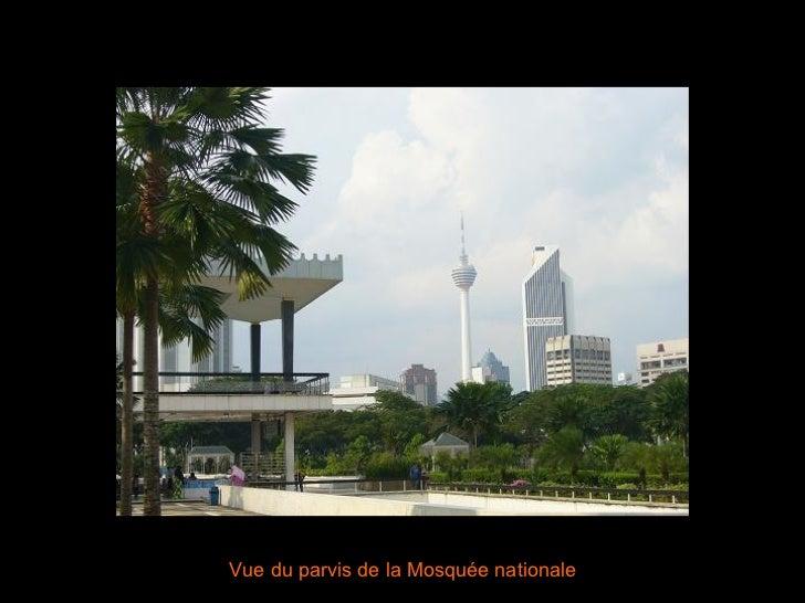 Vue du parvis de la Mosquée nationale