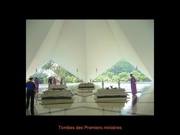 Tombes des Premiers ministres