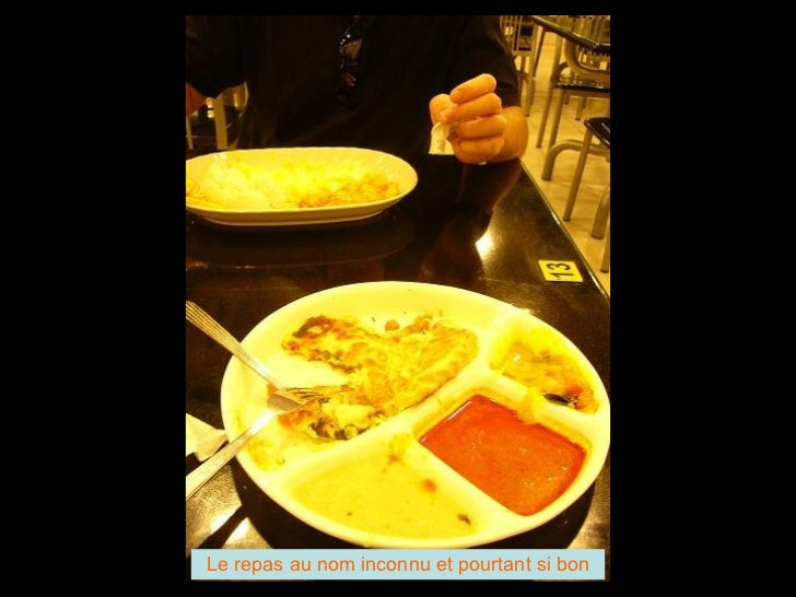 Le repas au nom inconnu et pourtant si bon