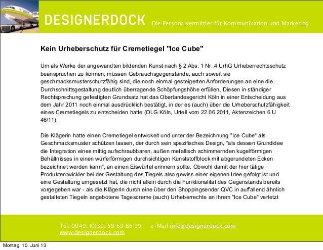 ∂Tel. 0049. (0)30. 59 69 66 19 e-Mail info@designerdock.comwww.designerdock.comDie Personalvermittler für Kommunikation un...