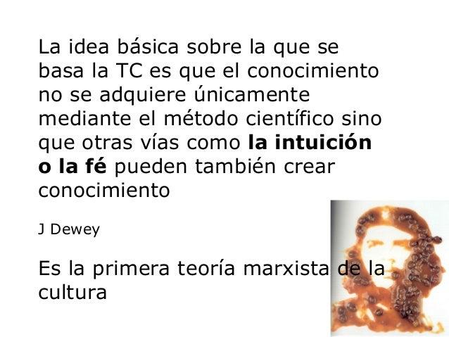Para luchar contra esta realidad la TC propone:Dialécticade larelectura