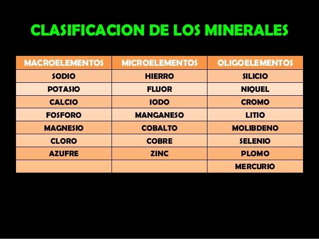 06 minerales 2011 vhoc - Alimentos ricos en magnesio y zinc ...