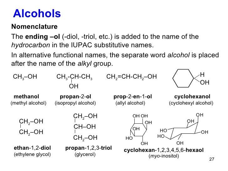 MCAT Organic Chemistry | Alcohols