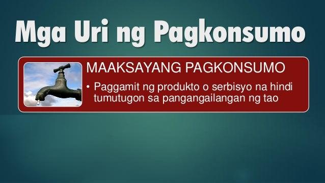 Pagkonsumo: Mga Uri, Salik at Batas Slide 21