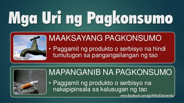 Pagkonsumo: Mga Uri, Salik at Batas Slide 22