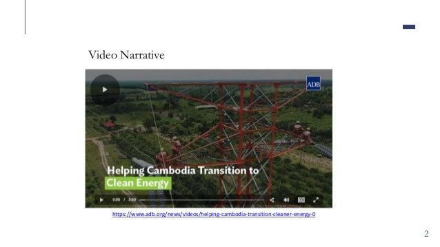 Pradeep Tharakan - Cambodia's National Solar Park Slide 2