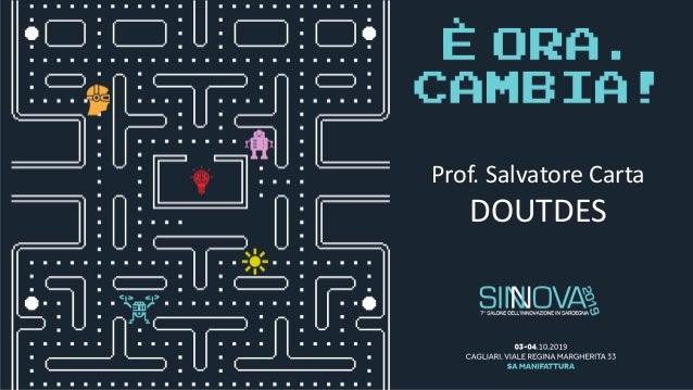 Prof. Salvatore Carta DOUTDES