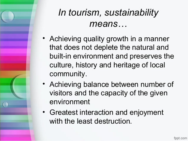 the development history of tourism The development and promotion of tourism in south history and way of the white paper provides a policy framework and guidelines for tourism development in.