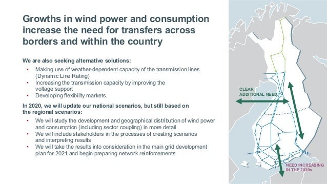Fingrid Current: Three scenarios for the development of the power system. Jussi Jyrinsalo