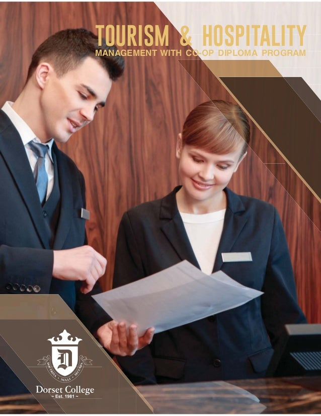 TOURISM & HOSPITALITYMANAGEMENT WITH CO-OP DIPLOMA PROGRAM