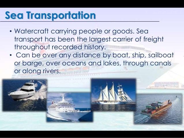 Evolution of transportation.