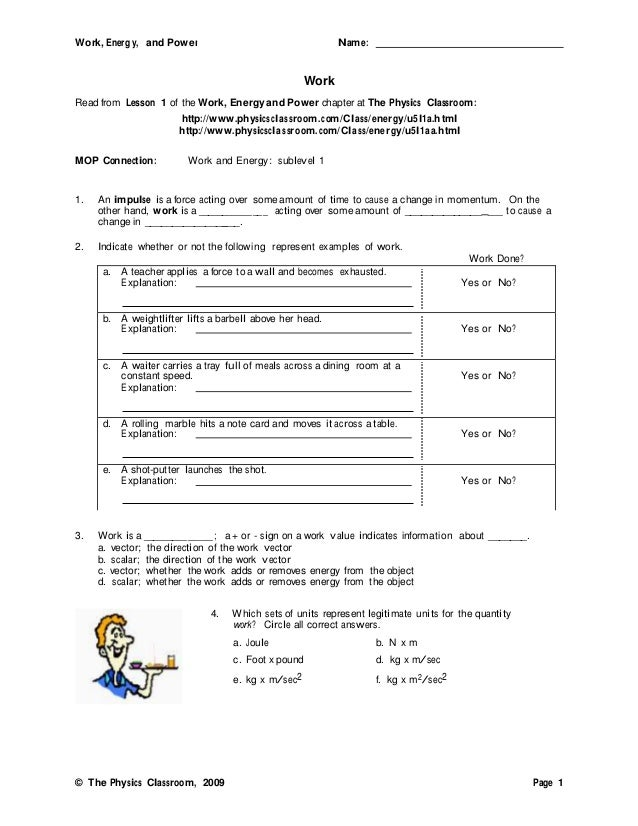 Printables Energy Work And Power Worksheet Answer Key printables energy worksheet answers safarmediapps worksheets work and power pichaglobal