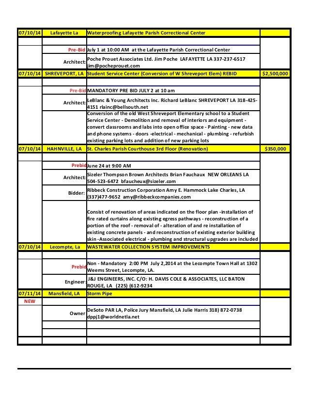 07 01-14 louisiana project listing (1)