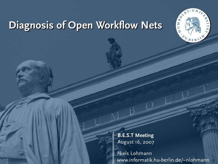 Diagnosis of Open Workflow Nets