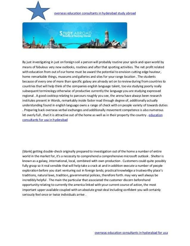 Study Abroad Overseas Consultants Hyderabad | HOC