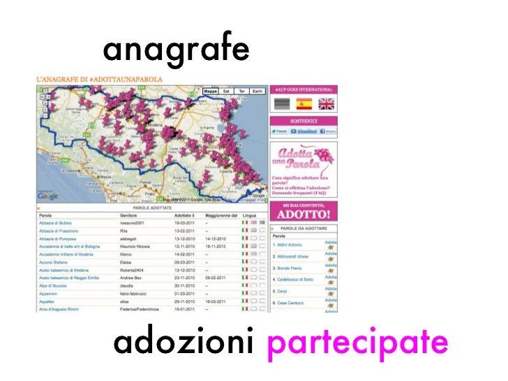 adozioni  partecipate   anagrafe