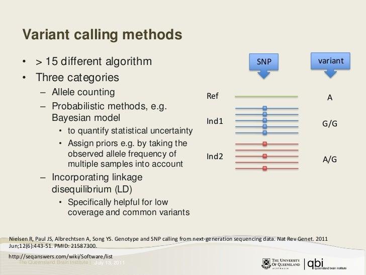 Variant (SNPs/Indels) calling in DNA sequences, Part 2