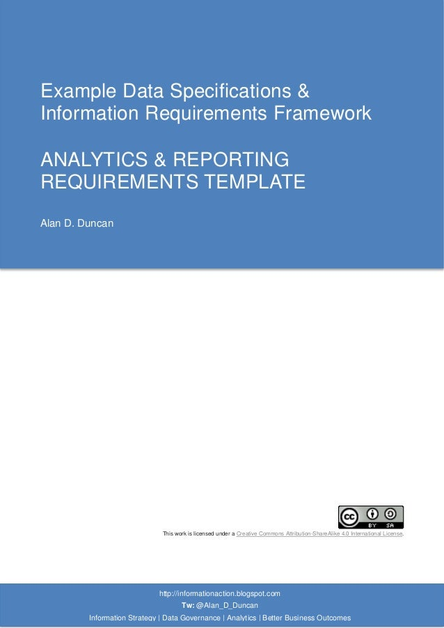 07 analytics reporting requirements template analytics reporting requirements template httpinformationactionspot tw alandduncan information strategy cheaphphosting Image collections