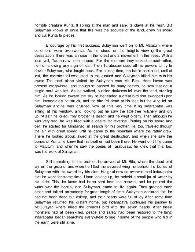 forgandprim - Indarapatra at sulayman english story