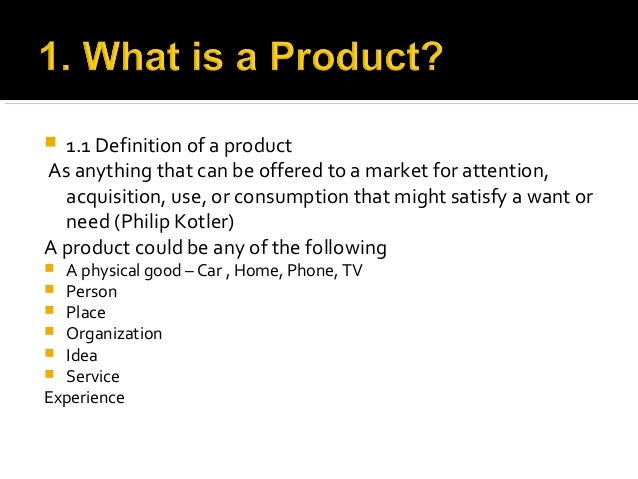 product planning and development definition