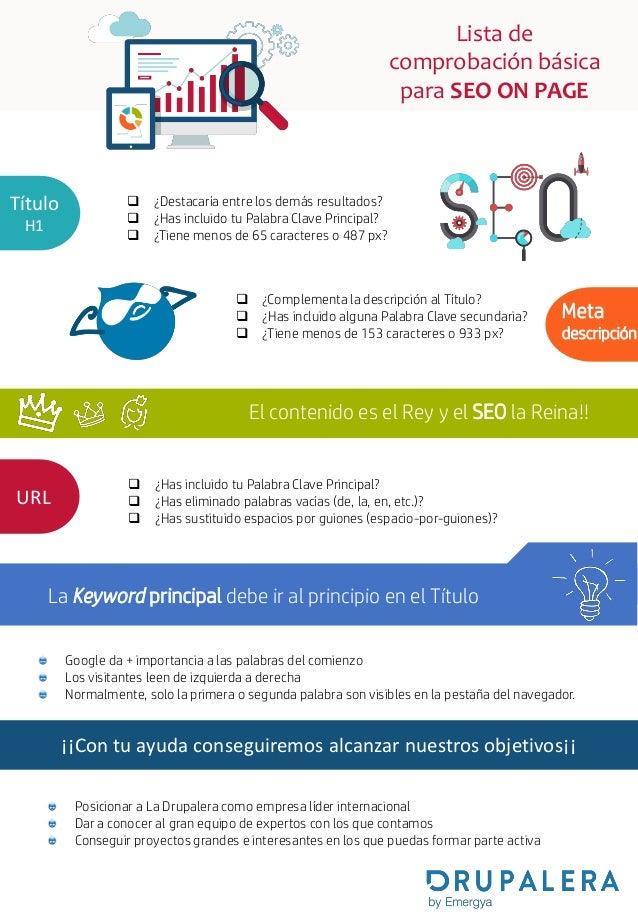 Consejos para la redacción de contenidos optimizada para SEO Slide 2