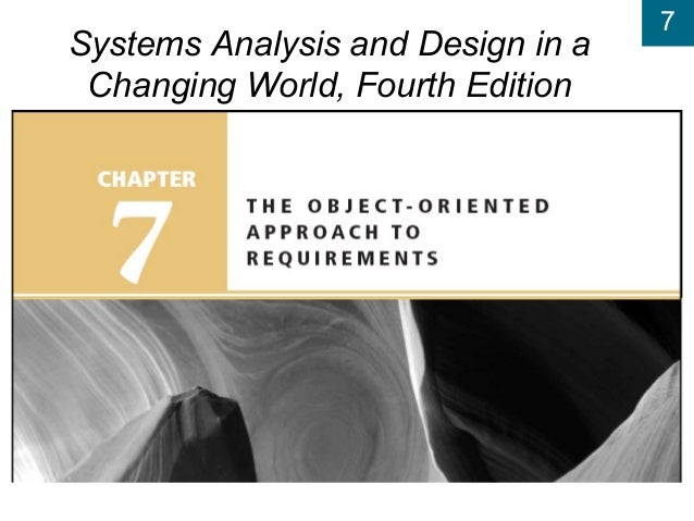 The Object Oriented Approach To Requirements