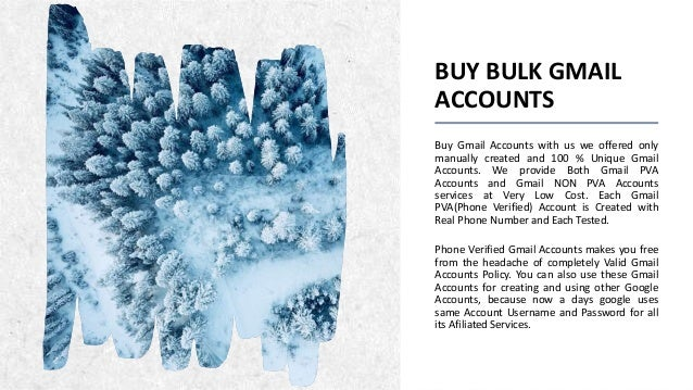 Buy Gmail Accounts | How To Buy Aged Gmail Accounts