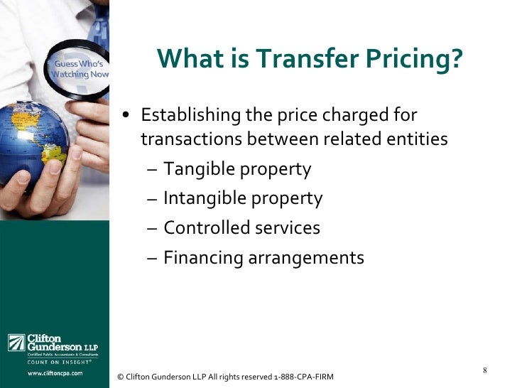 Define transfer for Transfer pricing policy template