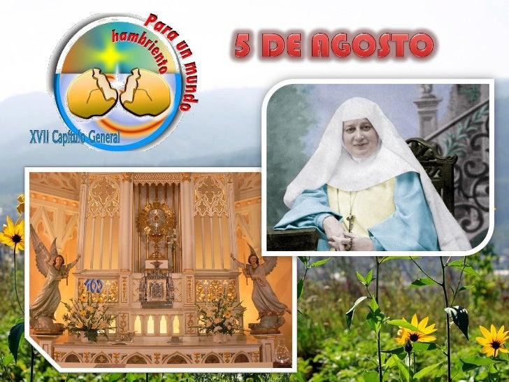 UN DÍA LLENO DE ACCIÓN DE GRACIASAL SEÑOR POR MARÍA, POR MARÍA EMILIA,        POR LA CONGREGACIÓN,   POR LA FIDELIDAD A LA...