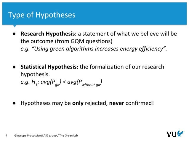The Green Lab - [07-B] Hypothesis Testing