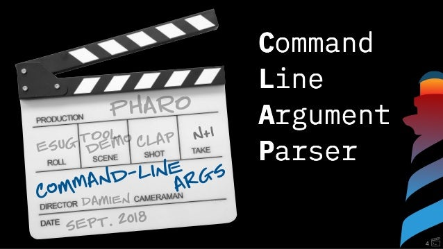 clap: Command line argument parser for Pharo