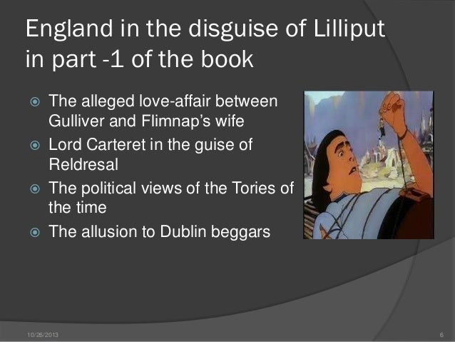 comparison of personalities between swift and gulliver Gulliver's travels by jonathan swift  descriptions of these people is the comparison between european and houyhnhnm land yahoos  present day of gulliver's .