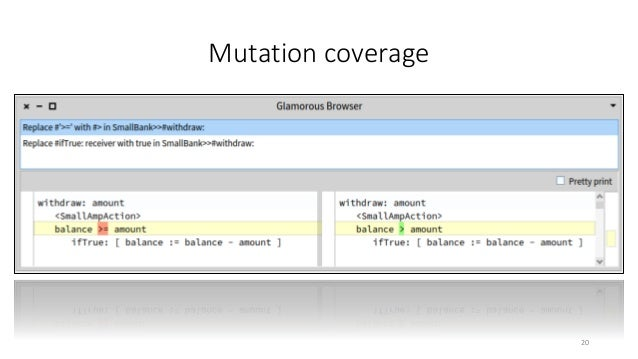 Mutation coverage 20