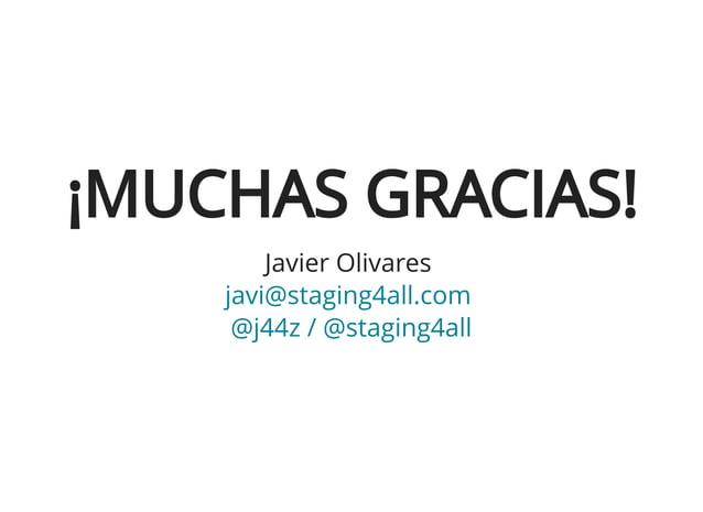 Convierte tu Joomla! a estático, haciéndola inhackeable y ultrarrápida - Javier Olivares