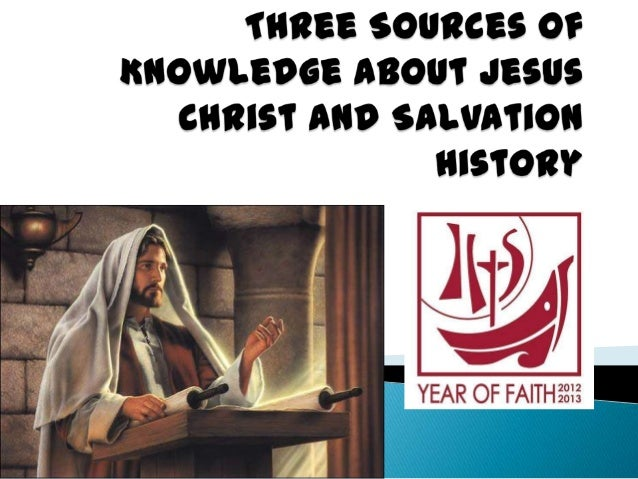 Sources of Faith  Tradition  Bible  Magisterium