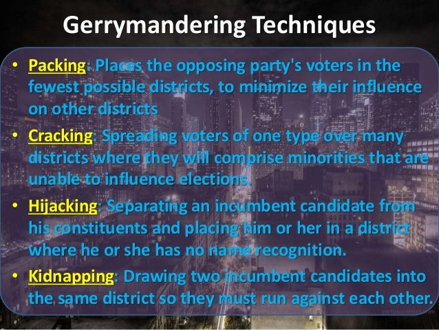 What Is Gerrymandering Packing And Cracking Gerrymandering ...