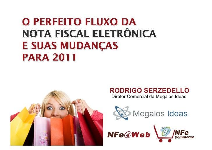 RODRIGO SERZEDELLODiretor Comercial da Megalos Ideas