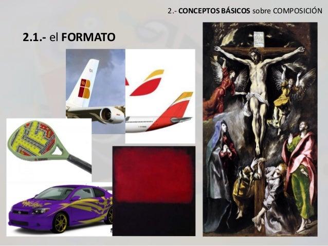 2.- CONCEPTOS BÁSICOS sobre COMPOSICIÓN 2.1.- el FORMATO