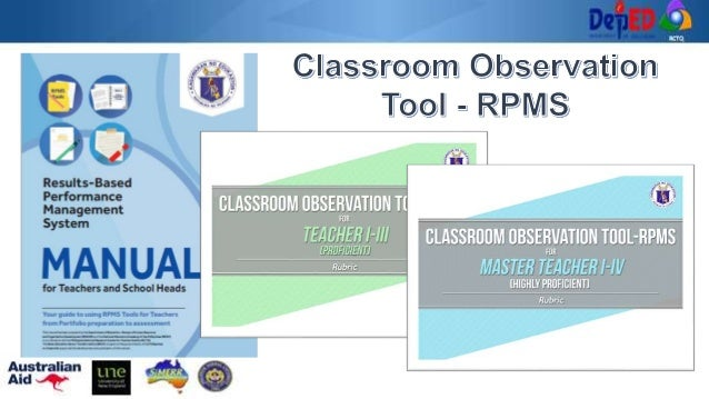 What is Classroom Observation? • A process of providing feedback to a teacher's classroom practice • Encourages teachers t...