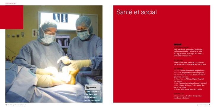 Santé et social                                                     Santé et social                                       ...