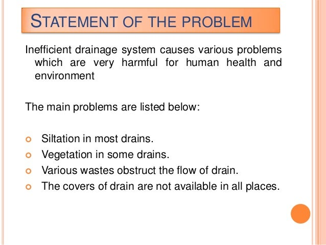 Statement of the problem in lending system