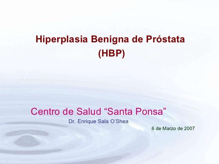 """<ul><li>Centro de Salud """"Santa Ponsa"""" </li></ul><ul><li>Dr. Enrique Sala O'Shea </li></ul><ul><li>6 de Marzo de 2007 </li>..."""
