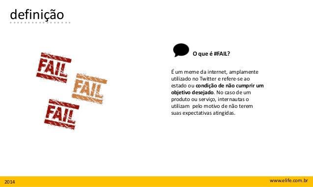 Fail: quais as categorias mais reclamadas em redes sociais? Slide 2