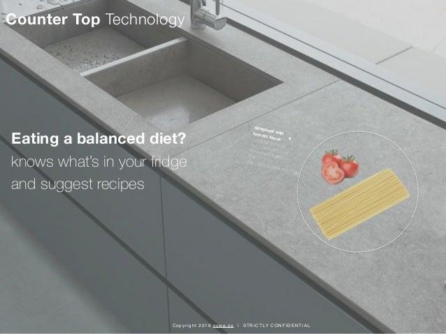 Intelligent Kitchen Concept by Nuwe