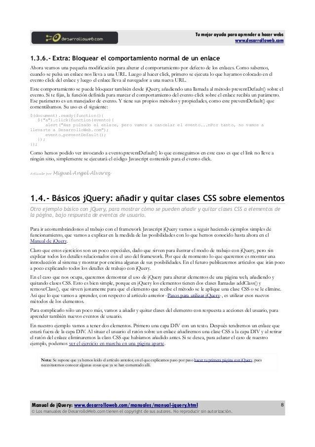 Manual pdf Jquery Output