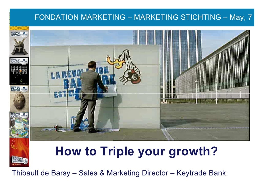FONDATION MARKETING – MARKETING STICHTING – May, 7     50 RECOMMENDATION FOR A BETTER APPROACH OF THE ENTERPRISE MARKET   ...